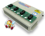 BeeHive204 based core for ;automated programmers<br> - scalable up to <b>64</b> programming modules<br> - rich featured <b>remote control</b>